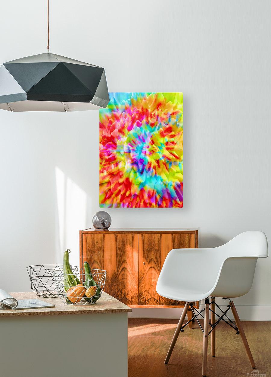 Fractal Art  HD Metal print with Floating Frame on Back