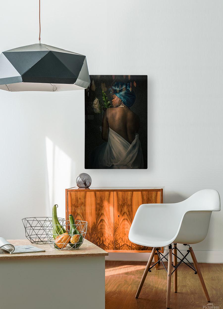 La fidelite  HD Metal print with Floating Frame on Back