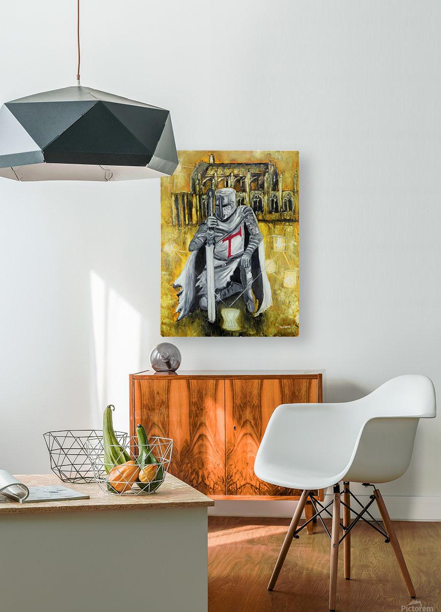 Tacitus vocis  HD Metal print with Floating Frame on Back