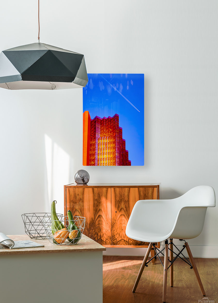 Escape From The Hive  HD Metal print with Floating Frame on Back