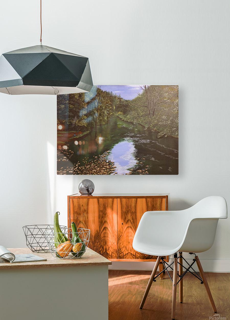 Derwent Walk  HD Metal print with Floating Frame on Back