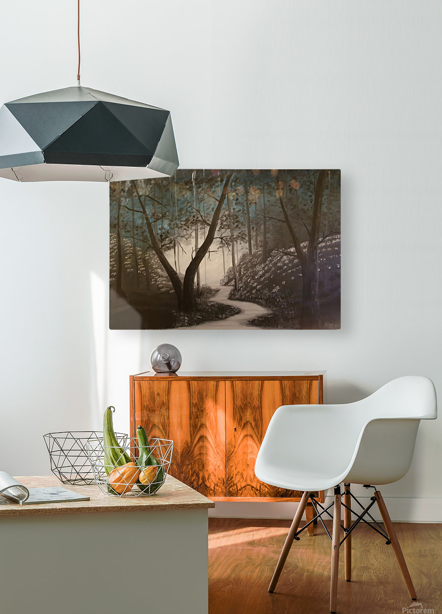 Idyll  HD Metal print with Floating Frame on Back