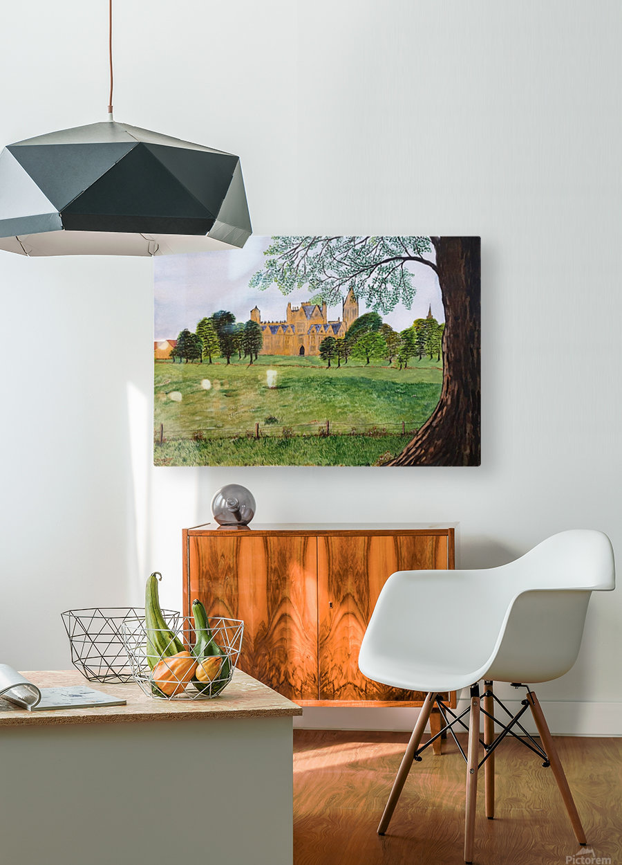 Christchurch  HD Metal print with Floating Frame on Back