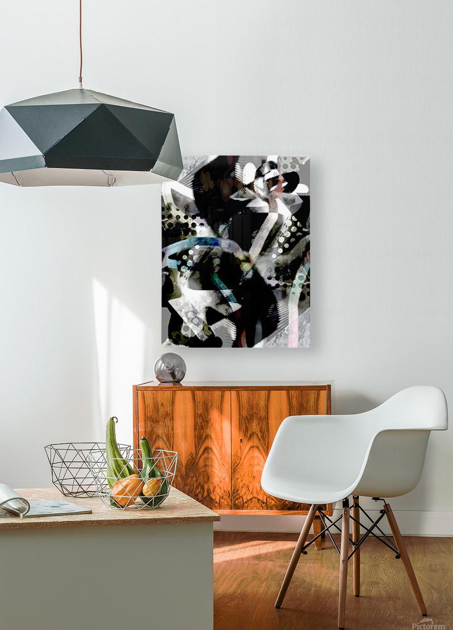 j A Z U  HD Metal print with Floating Frame on Back
