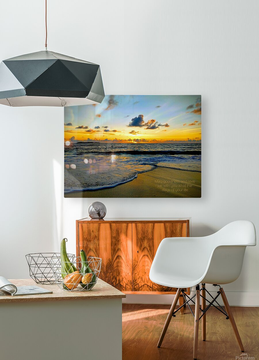 Goodness_and_love_bahamas  HD Metal print with Floating Frame on Back