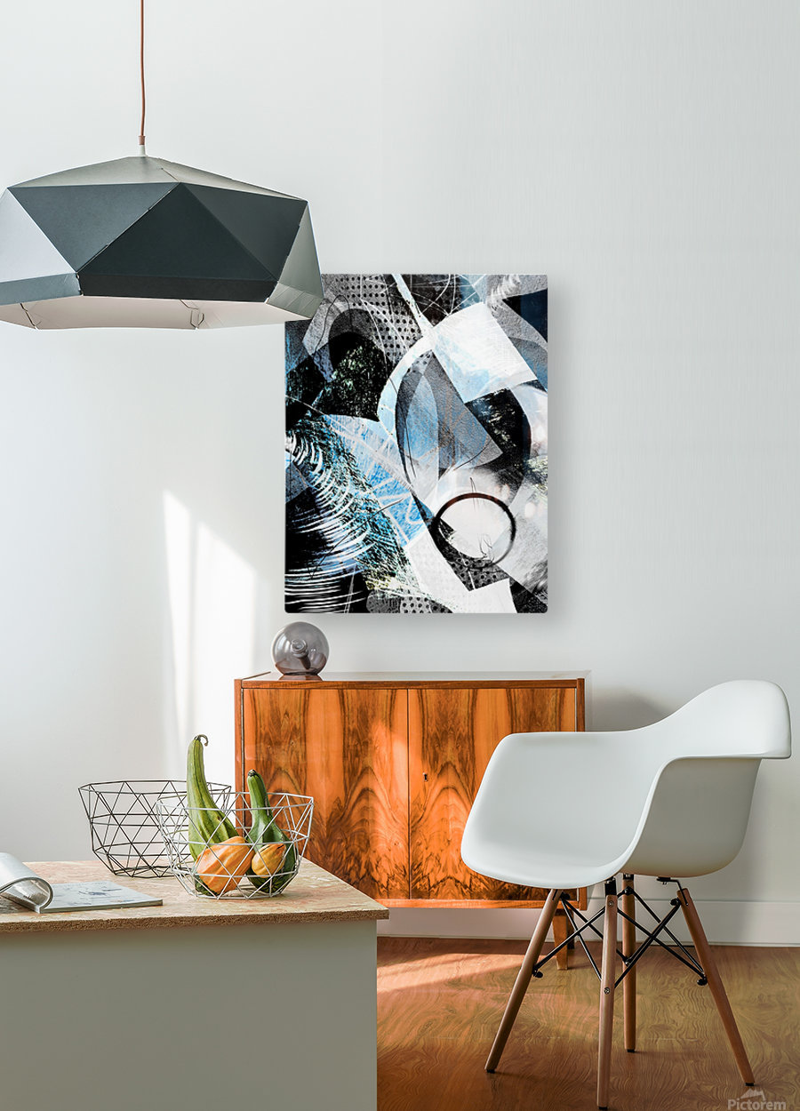 t  a r a  HD Metal print with Floating Frame on Back