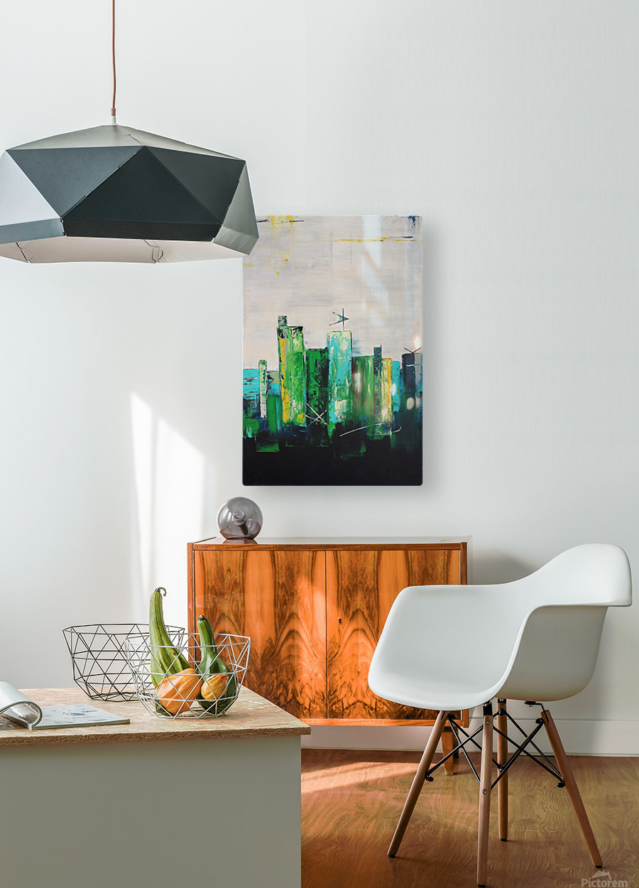 Uptown XIX  HD Metal print with Floating Frame on Back