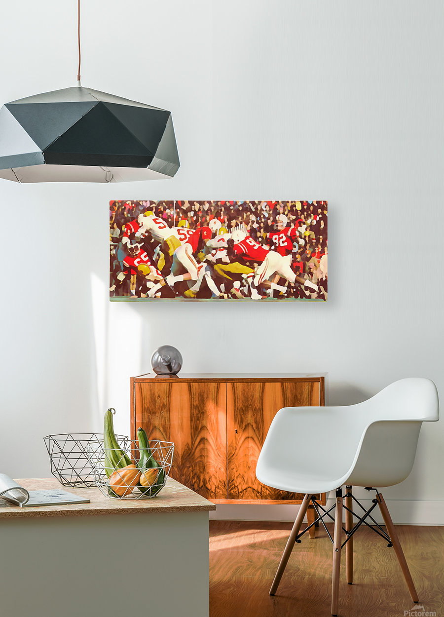Saturday Afternoon In Lincoln  HD Metal print with Floating Frame on Back