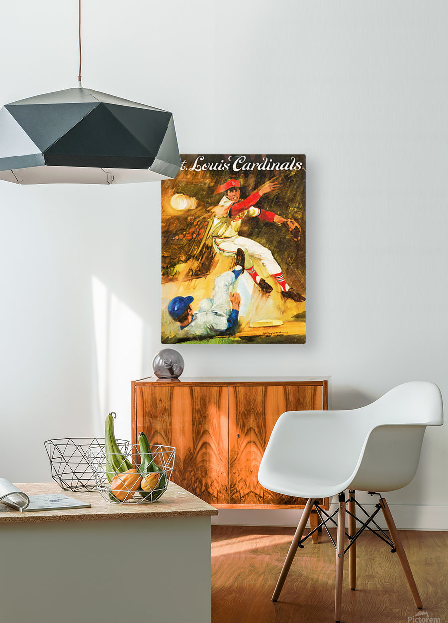 1972 St. Louis Cardinals  HD Metal print with Floating Frame on Back