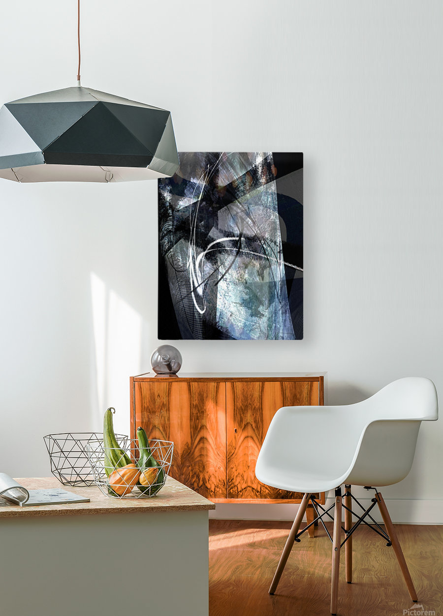 M I A T U  HD Metal print with Floating Frame on Back