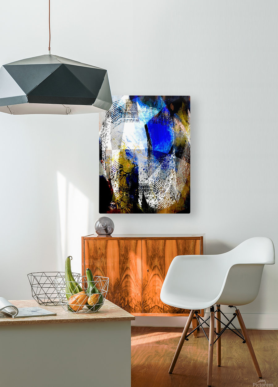 vu  HD Metal print with Floating Frame on Back