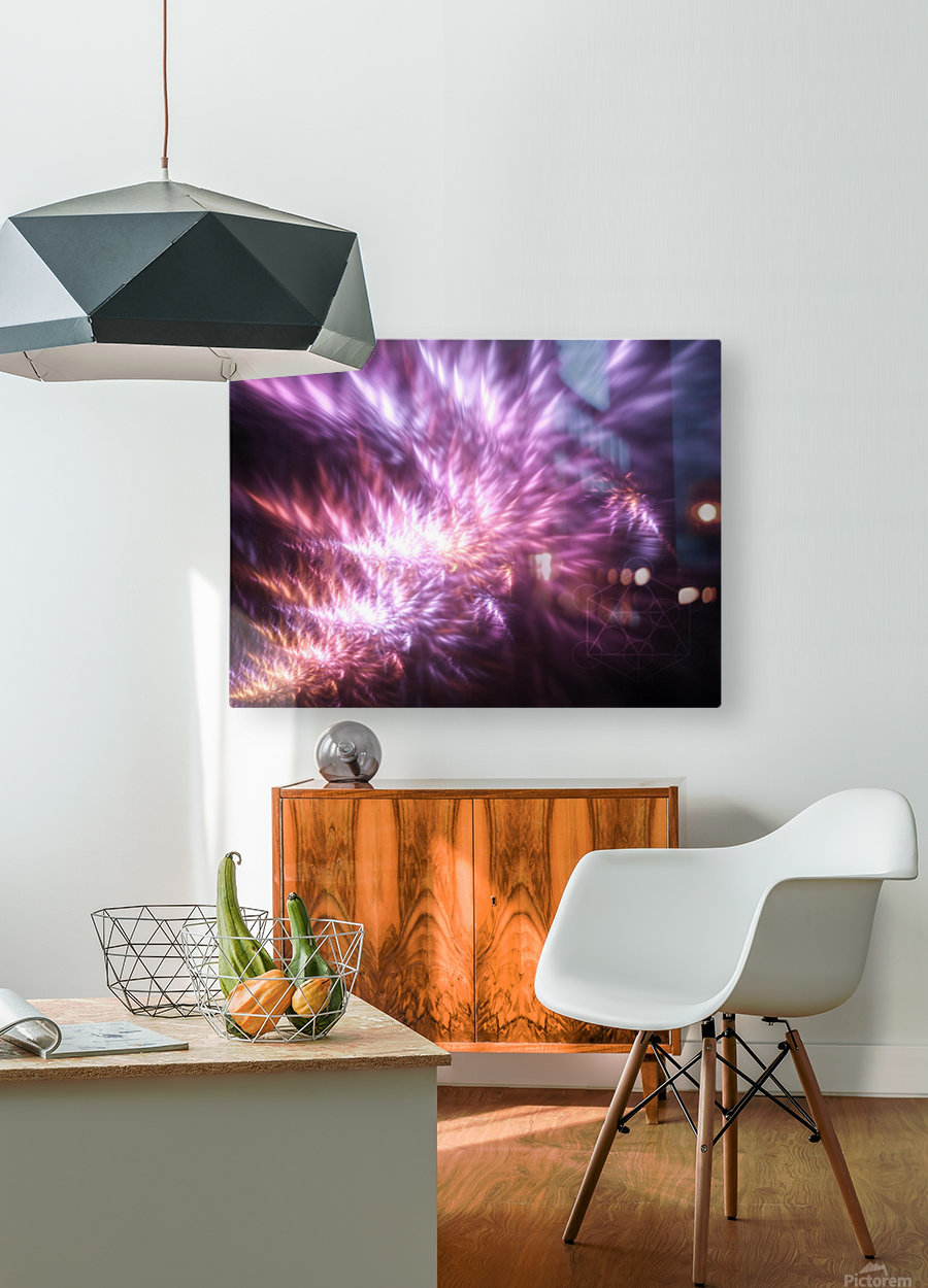 Gnosis  HD Metal print with Floating Frame on Back