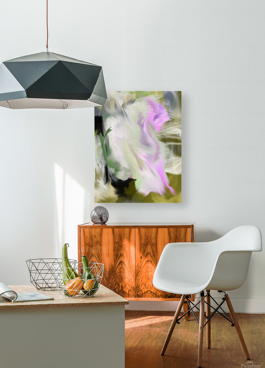 N A T U L A  HD Metal print with Floating Frame on Back