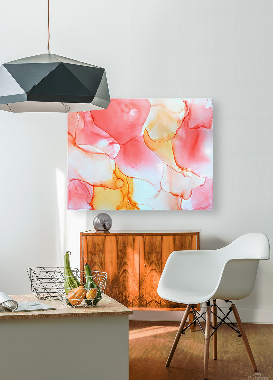 Tangerine Dream  HD Metal print with Floating Frame on Back