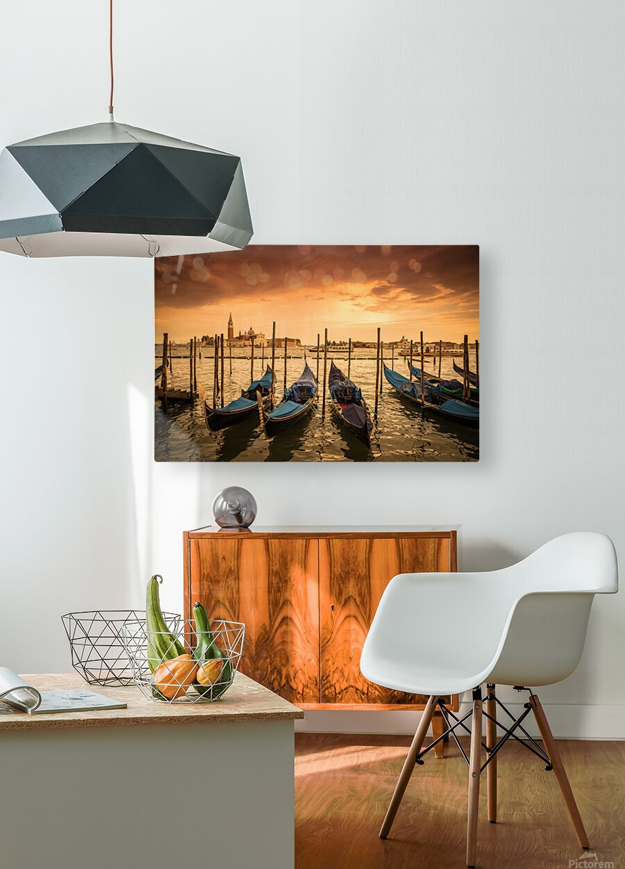 Venise  HD Metal print with Floating Frame on Back