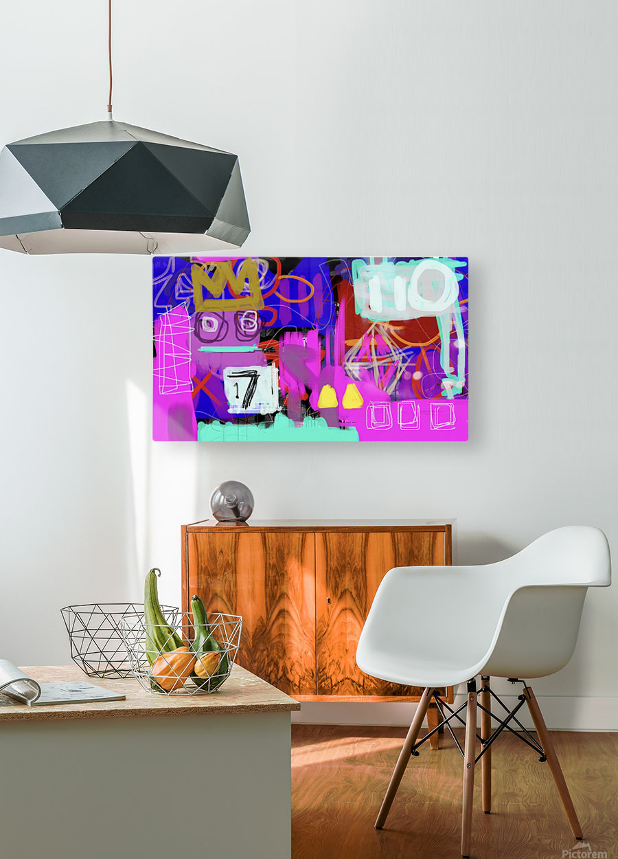 Lucky 17 ED  HD Metal print with Floating Frame on Back