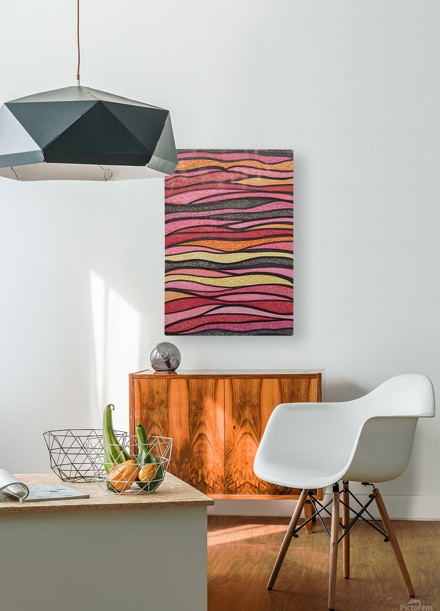 Serenna   HD Metal print with Floating Frame on Back
