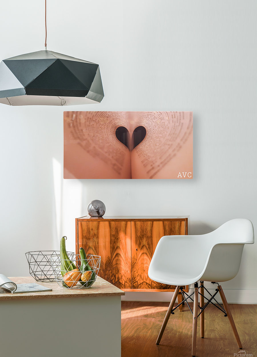 Love of Reading  HD Metal print with Floating Frame on Back