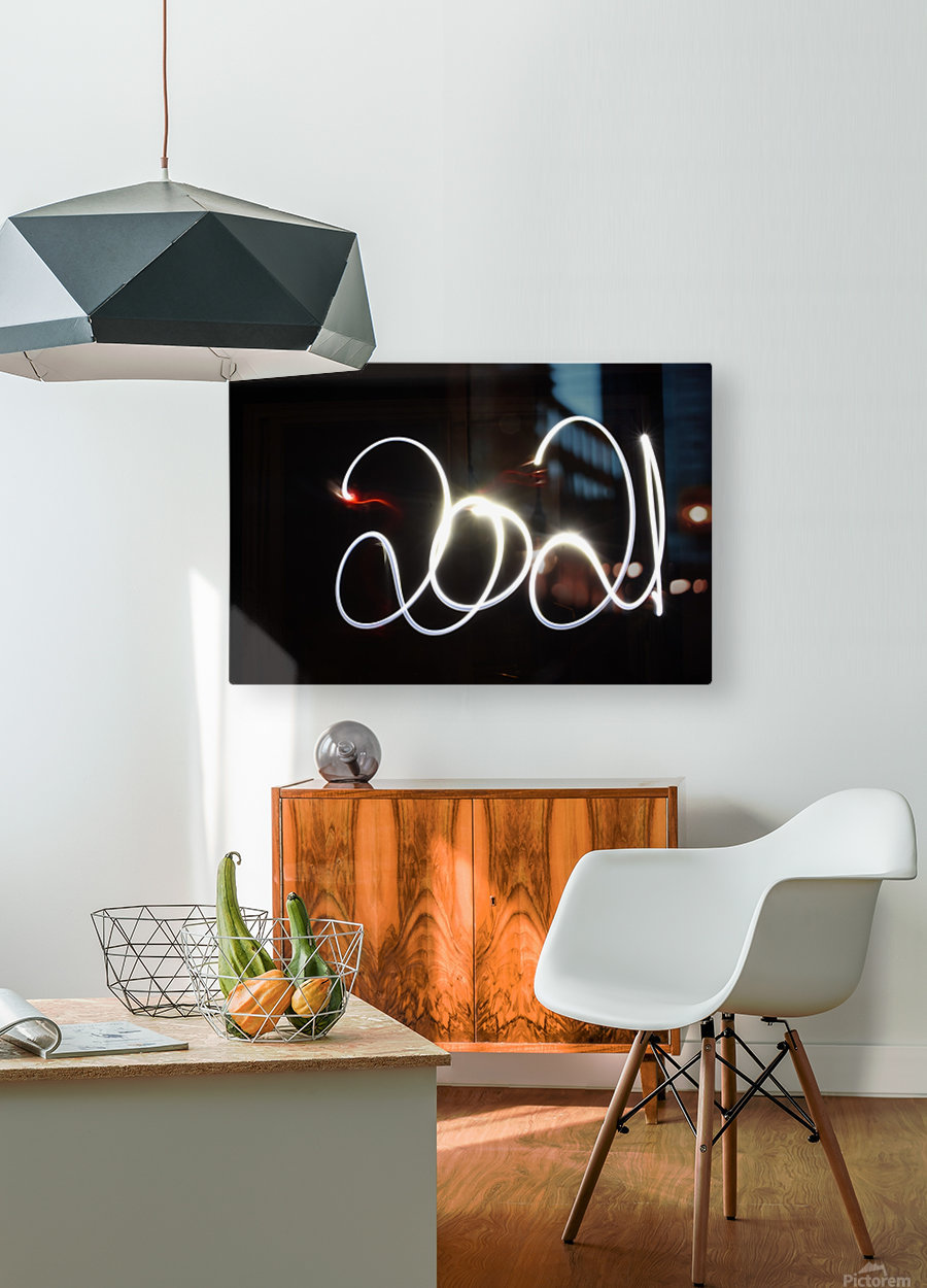 2021  HD Metal print with Floating Frame on Back