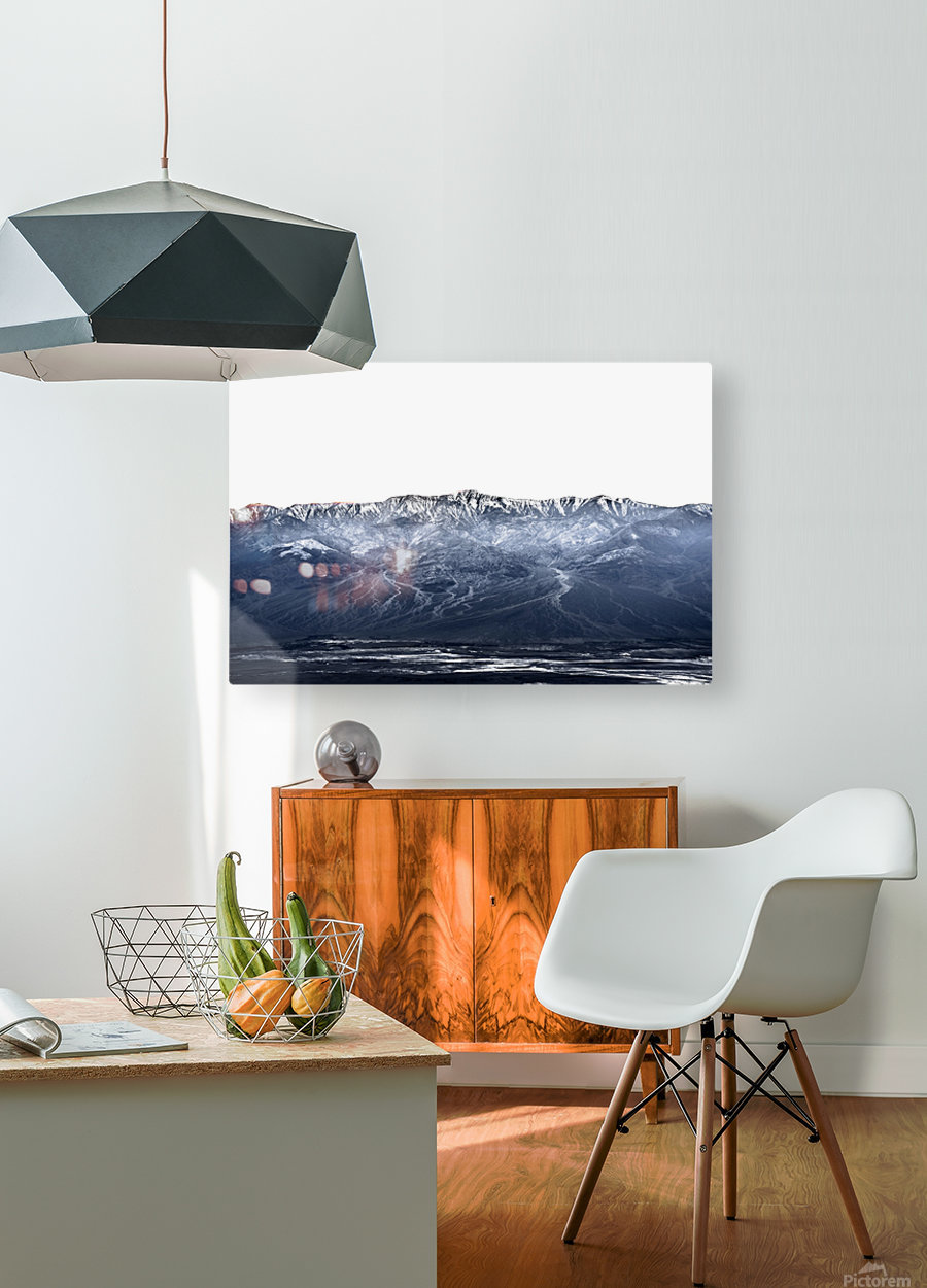Dantes peak  HD Metal print with Floating Frame on Back