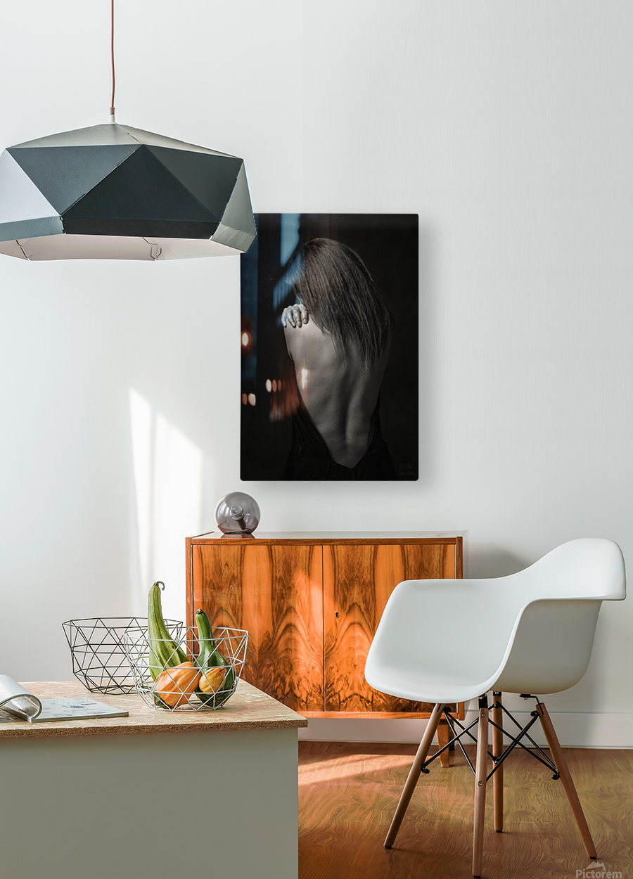 Melany 1  HD Metal print with Floating Frame on Back