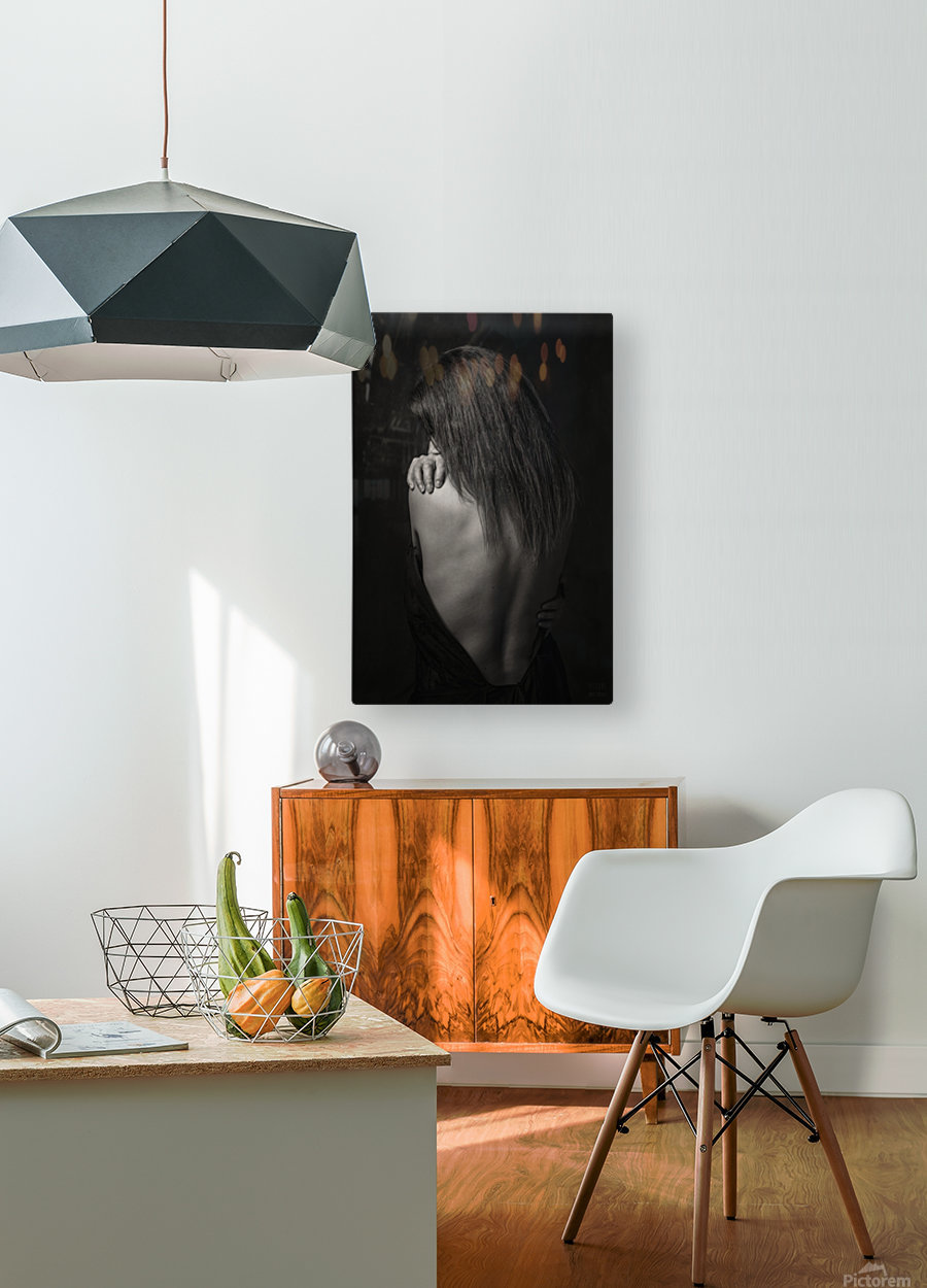 Melany 3  HD Metal print with Floating Frame on Back