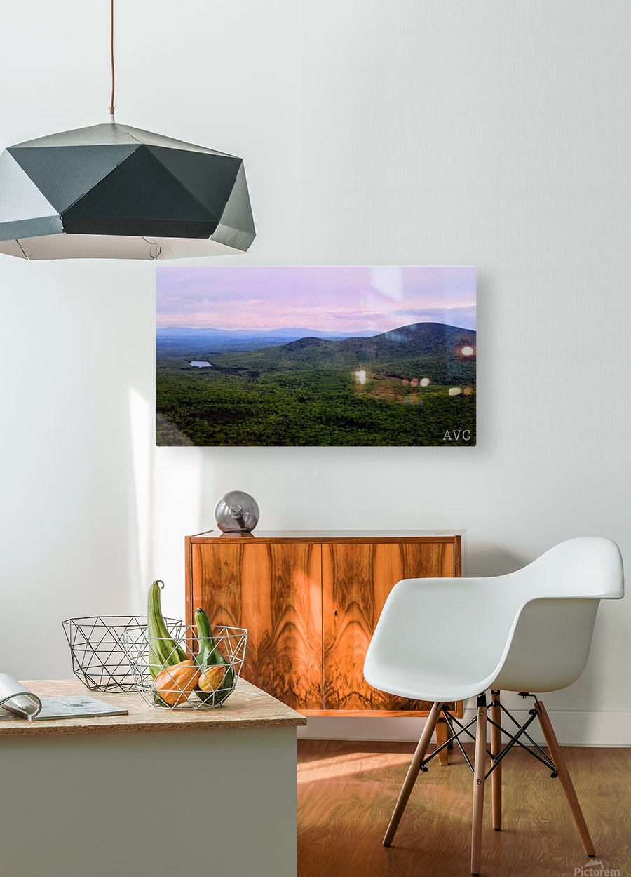 Spruce Mountain  HD Metal print with Floating Frame on Back