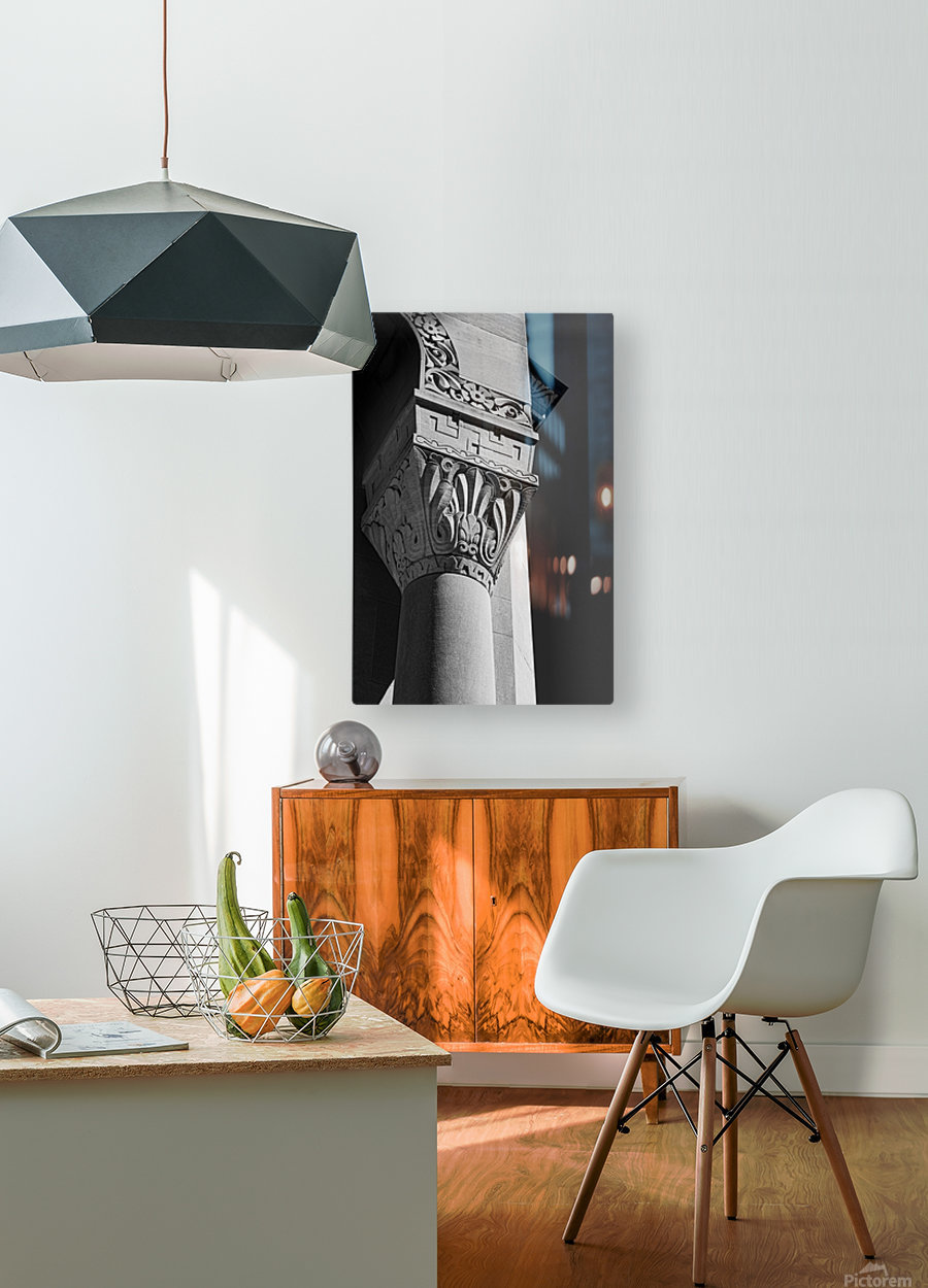 A Column for Lily  HD Metal print with Floating Frame on Back