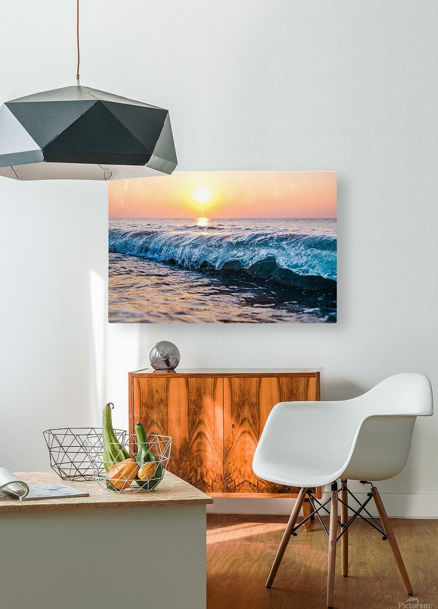 Morning Break  HD Metal print with Floating Frame on Back