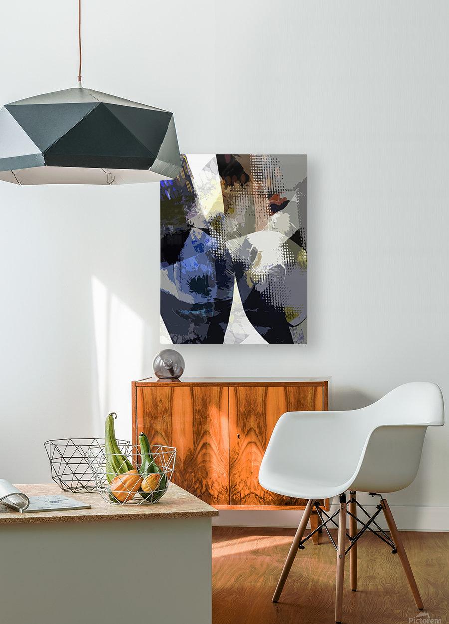S I E N A  HD Metal print with Floating Frame on Back