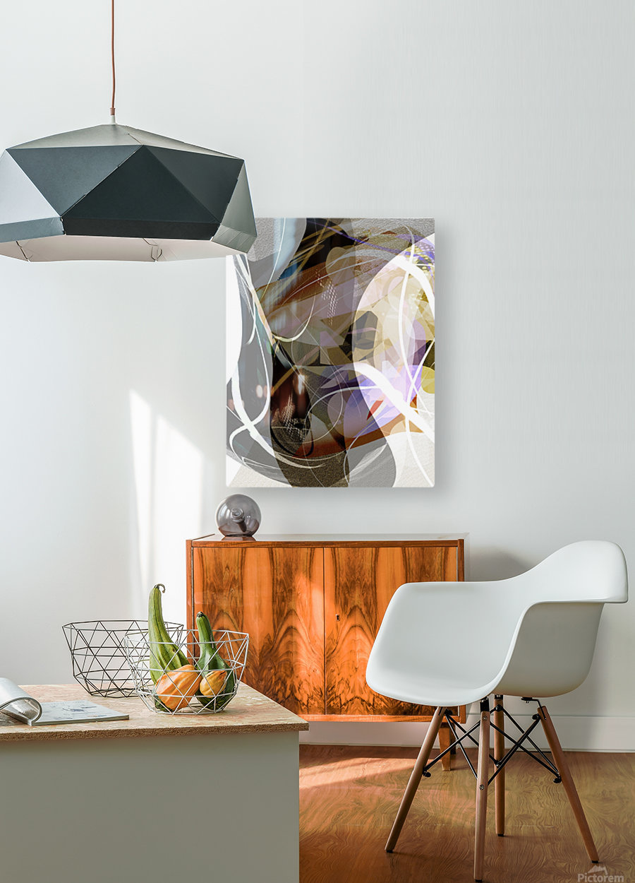 A M U  HD Metal print with Floating Frame on Back