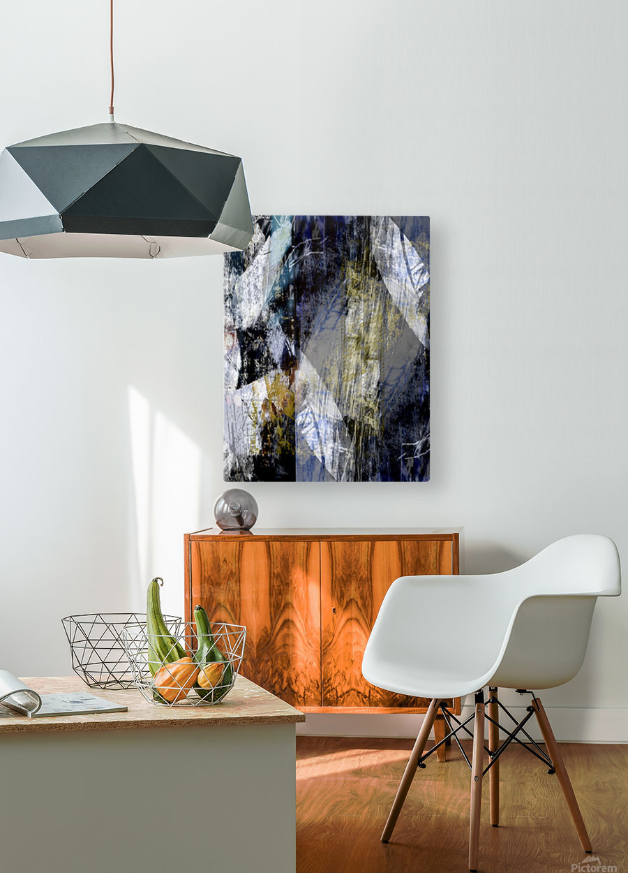 M I R A G E  HD Metal print with Floating Frame on Back