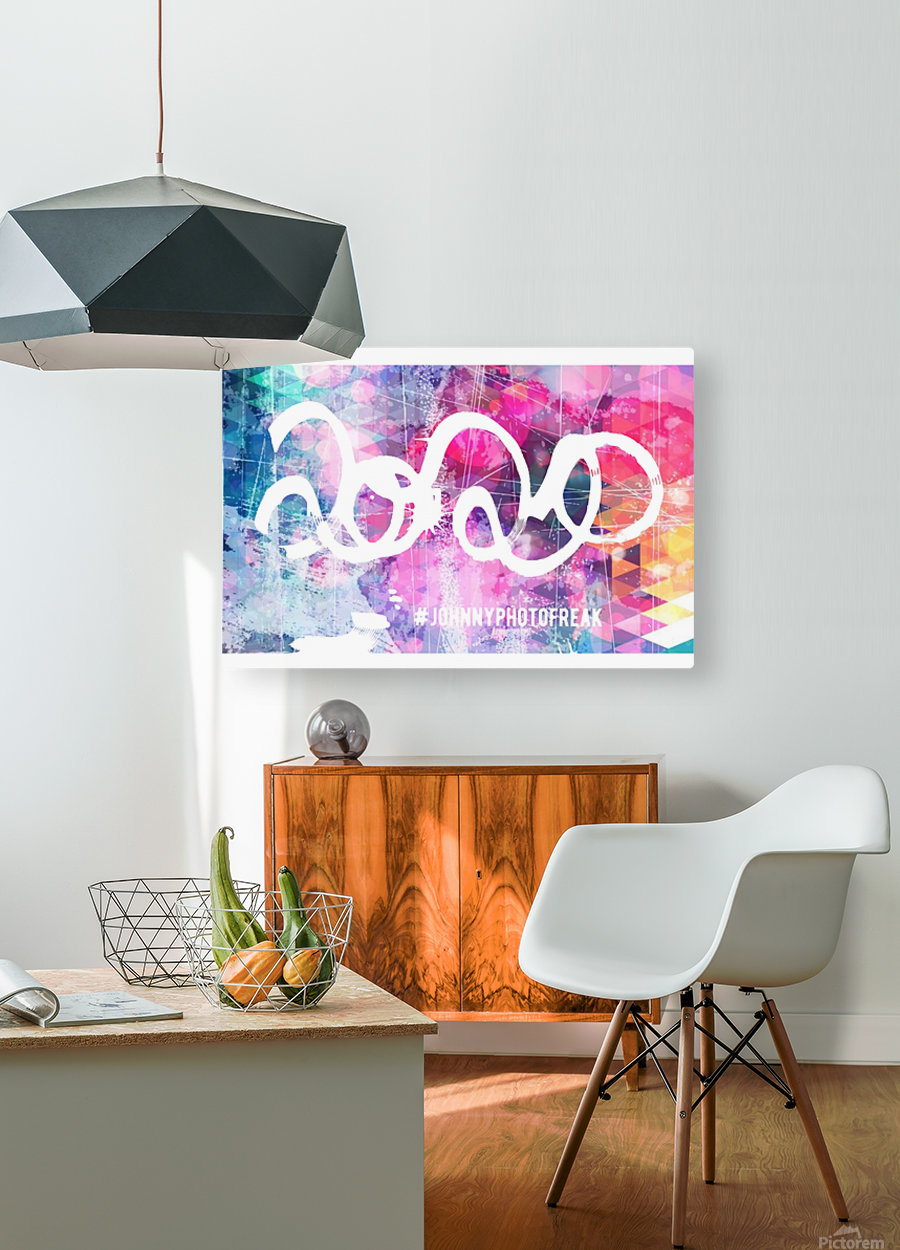 2020c   HD Metal print with Floating Frame on Back