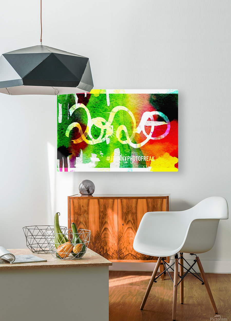 INKED 2020   HD Metal print with Floating Frame on Back