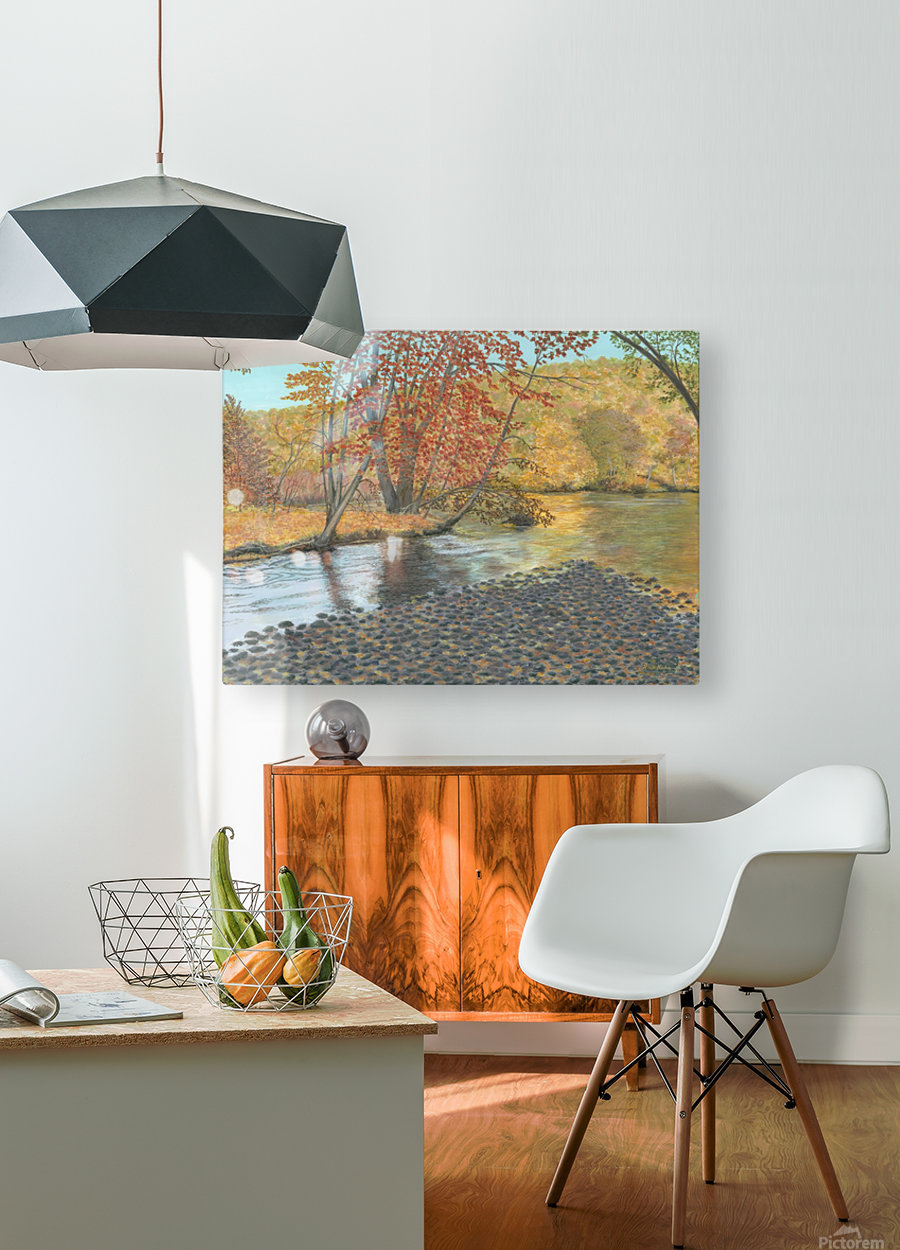 Two Rivers - Newtown Series 18X24  HD Metal print with Floating Frame on Back
