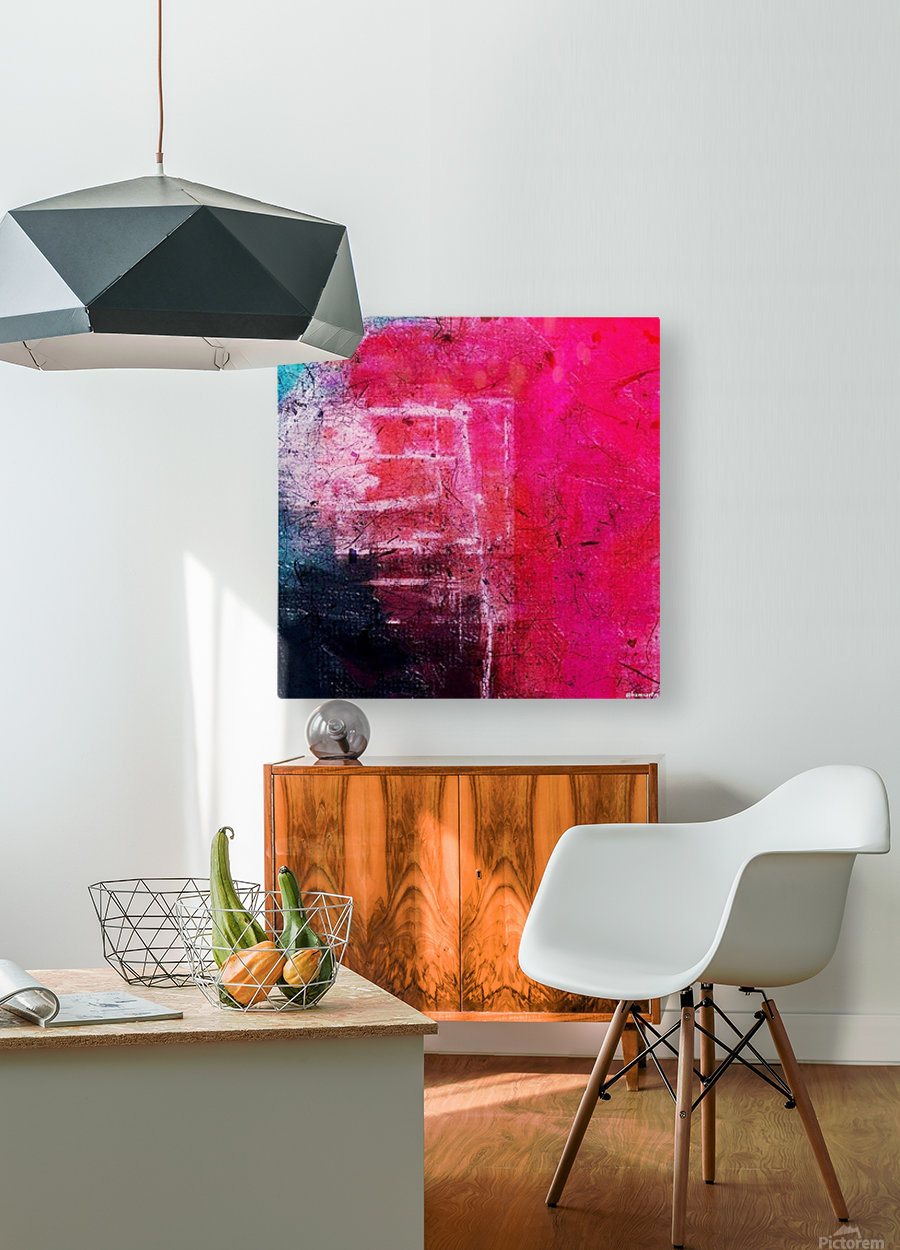 Prismo  HD Metal print with Floating Frame on Back