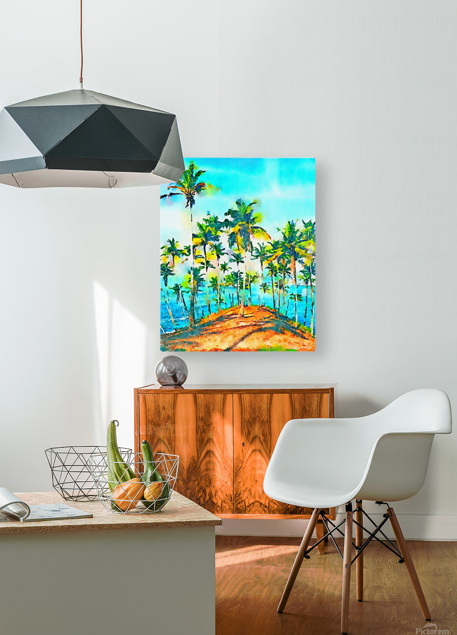 Seas the Day  HD Metal print with Floating Frame on Back