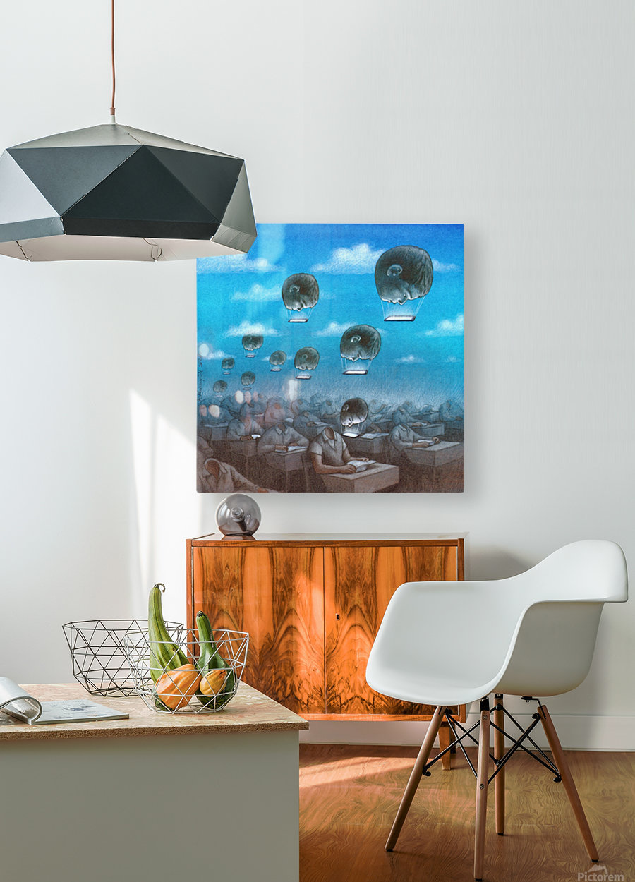 odloty  HD Metal print with Floating Frame on Back