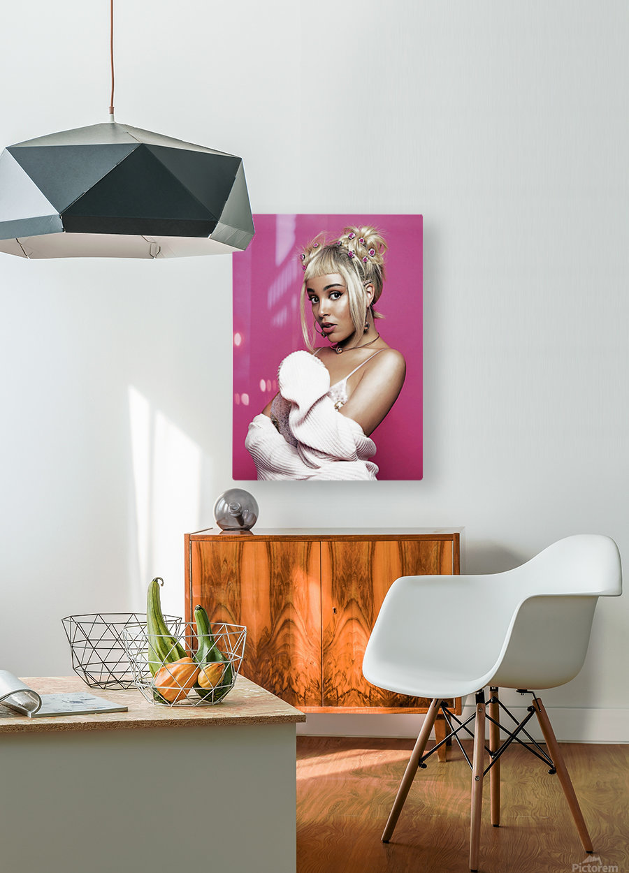 dojacat2  HD Metal print with Floating Frame on Back