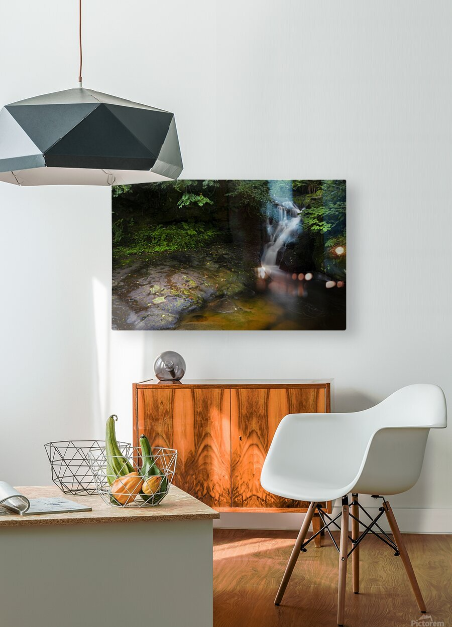 The colours of Blaen y Glyn   HD Metal print with Floating Frame on Back