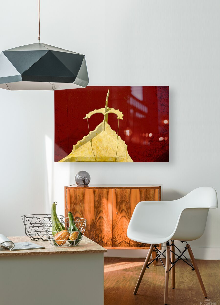 Boat - CXI   HD Metal print with Floating Frame on Back
