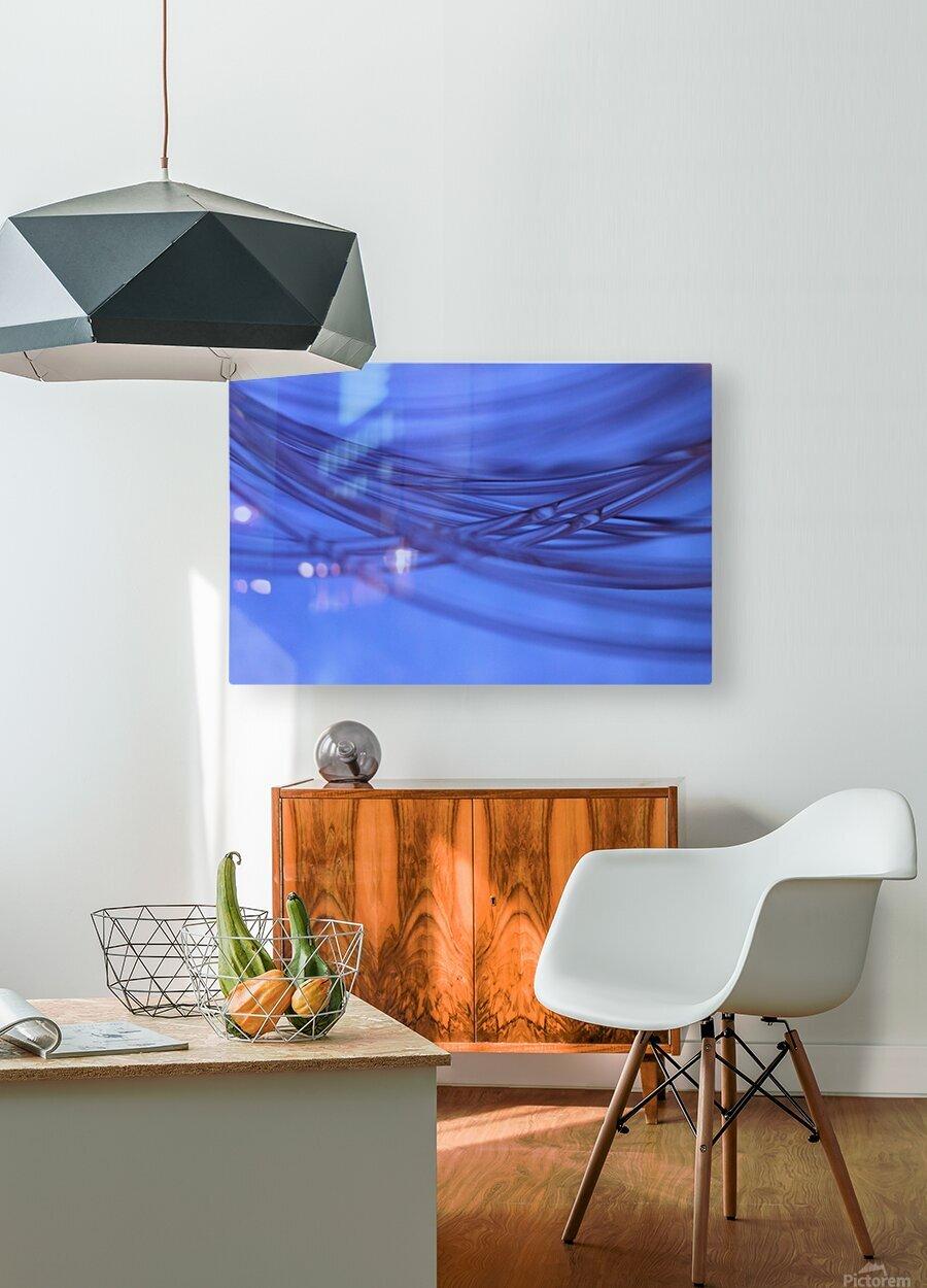 Animas  HD Metal print with Floating Frame on Back