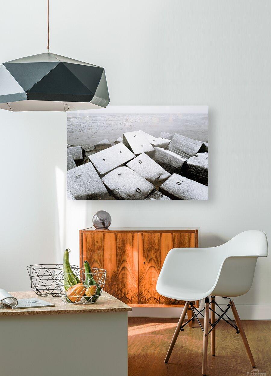 Sugar cubes  HD Metal print with Floating Frame on Back