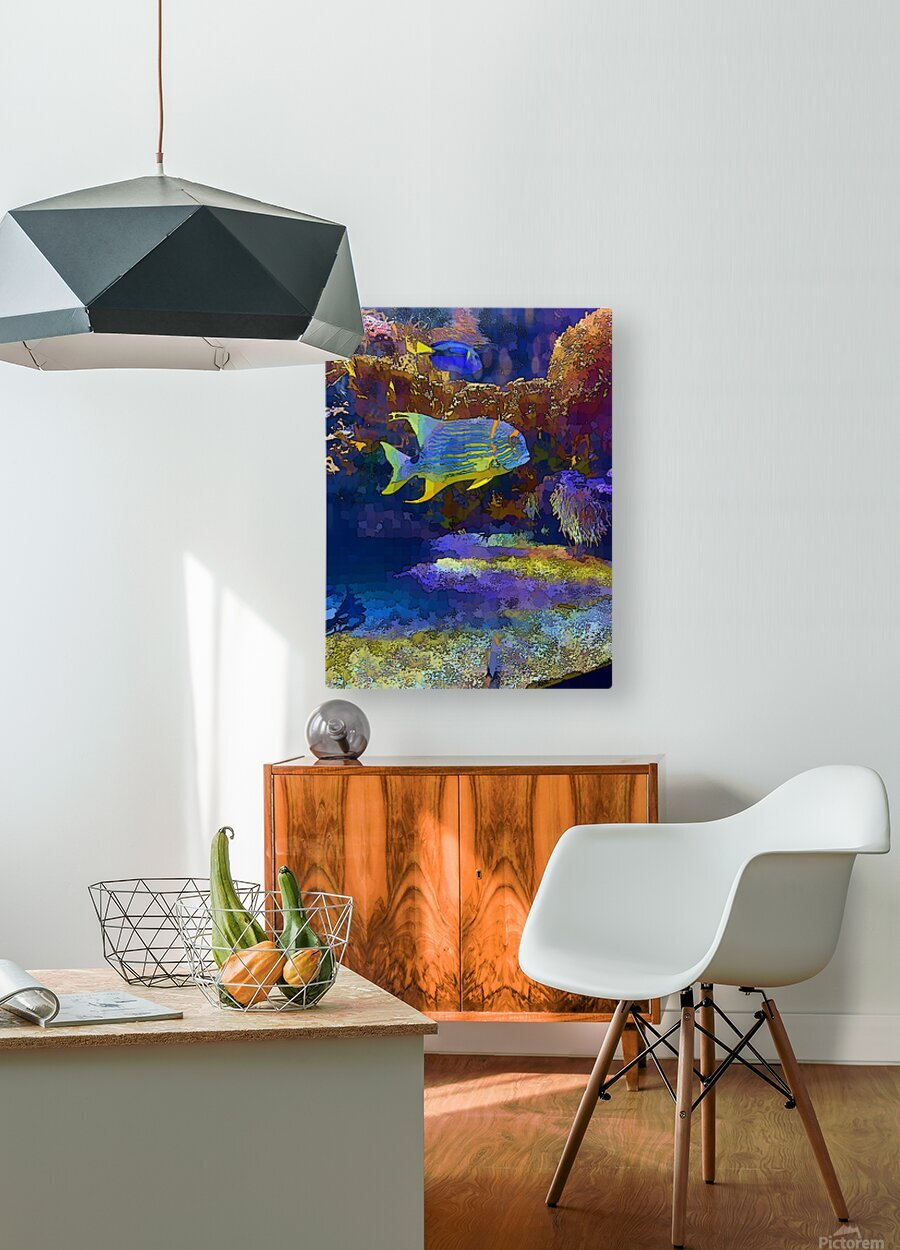 Venture into Unknown  HD Metal print with Floating Frame on Back