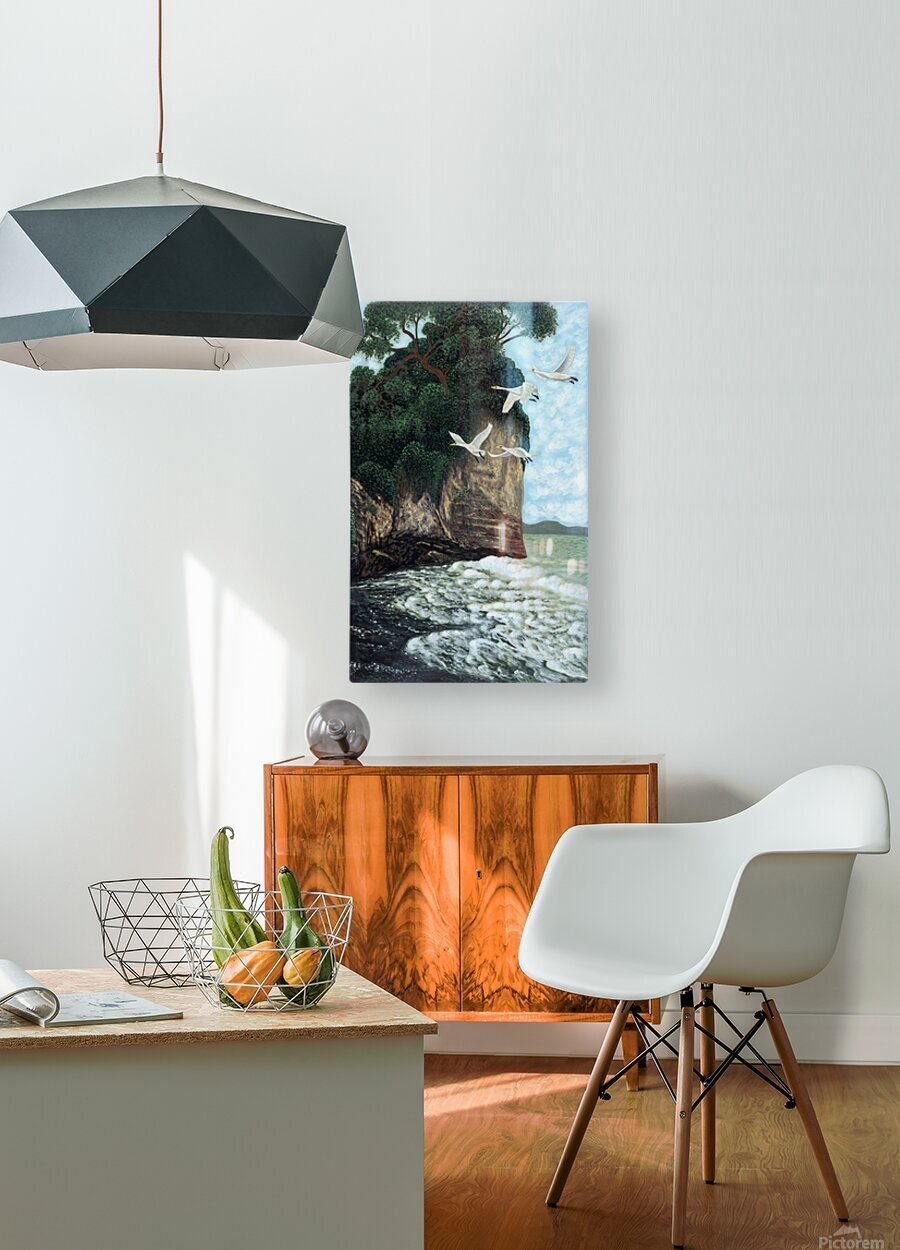 1988 023  HD Metal print with Floating Frame on Back