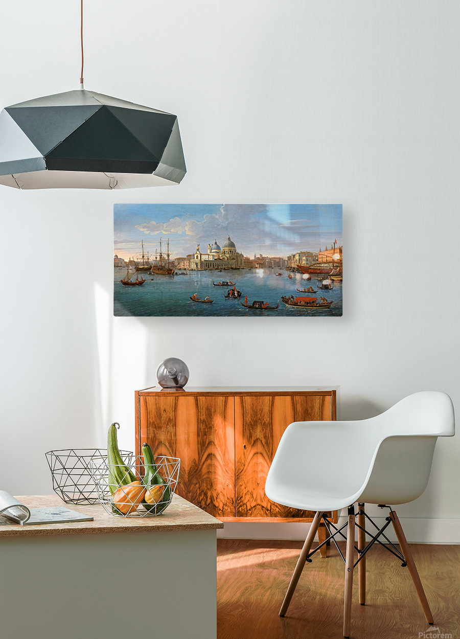 A view of Venice  HD Metal print with Floating Frame on Back