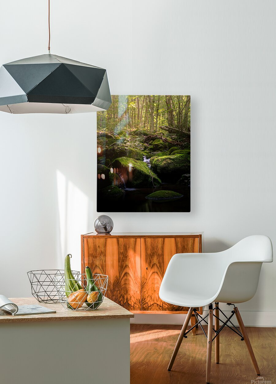 From afar what holds you near  HD Metal print with Floating Frame on Back