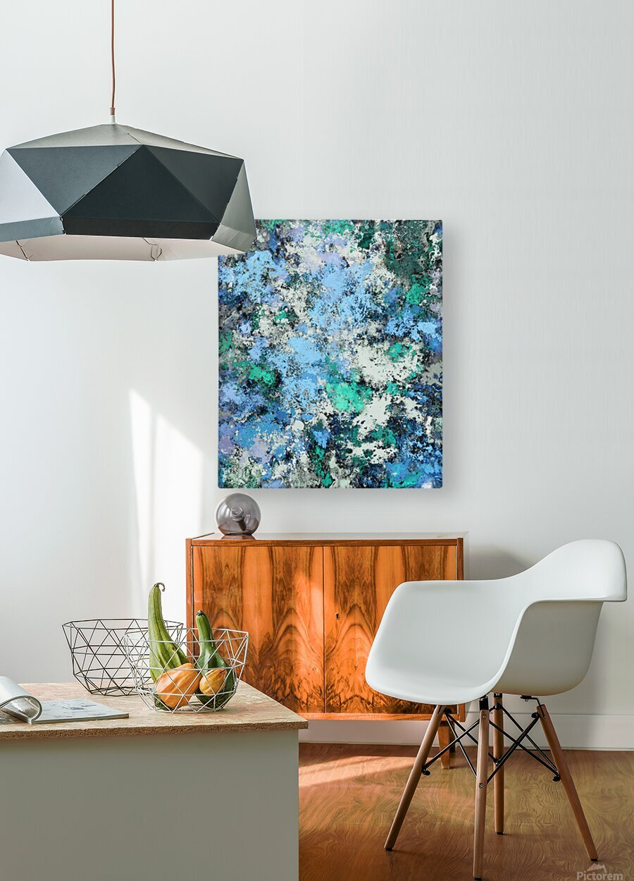 Big water  HD Metal print with Floating Frame on Back