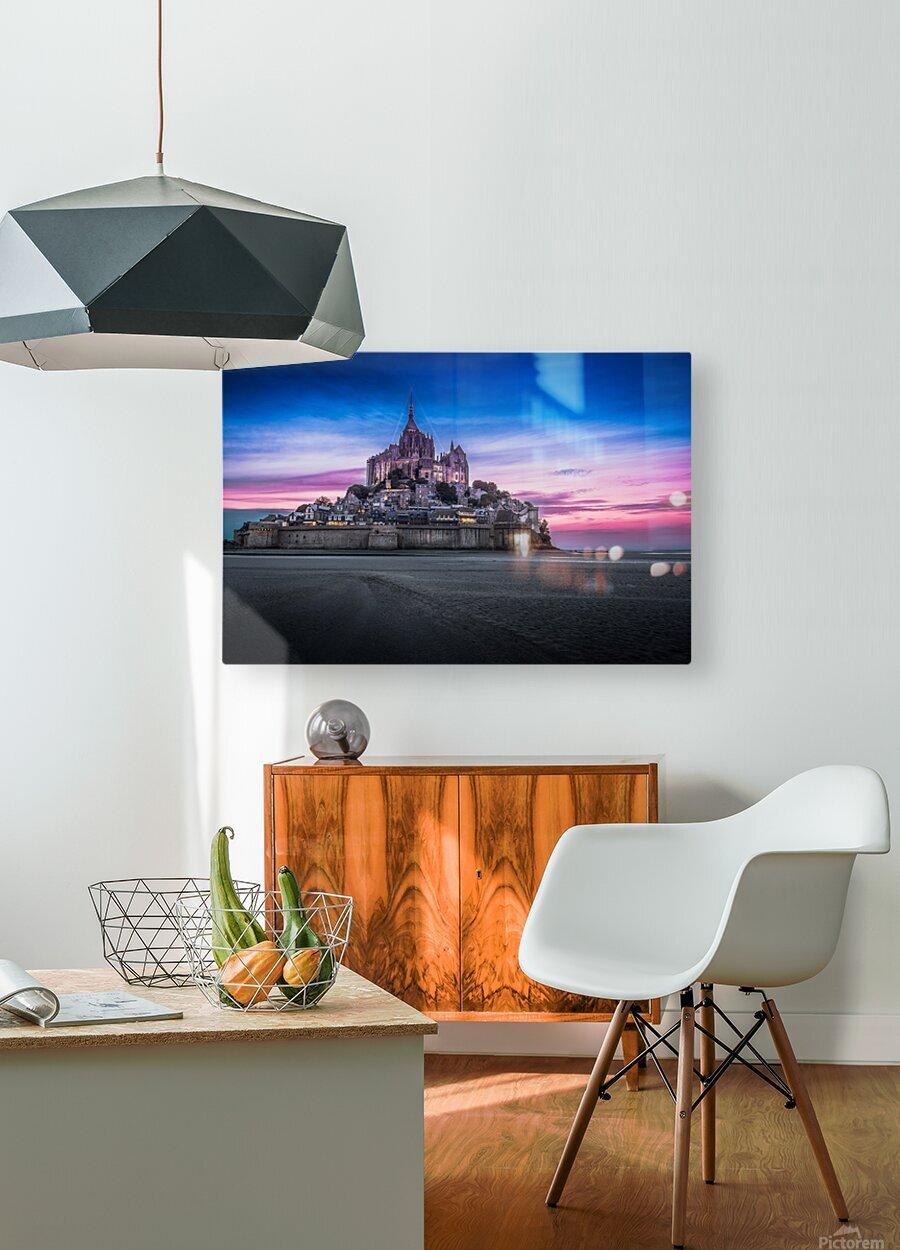 ch00003  Impression métal HD avec cadre flottant sur le dos