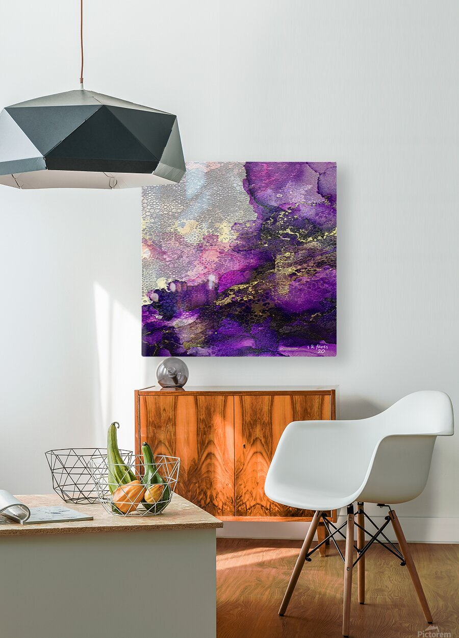 03  HD Metal print with Floating Frame on Back